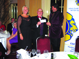 Lions 24th Charter 004 with Laurence and Jackie