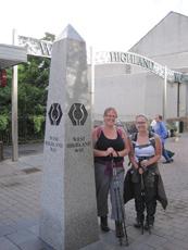 Caroline Rowe walked the West Highland Way