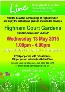 HighnamCourtGardensincTour 13.05.15